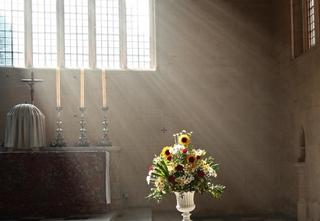 Foto: Detalje af 'Enlightened'. Venligst udlånt af Fr Lawrence Lew, O.P. på Flickr.com.