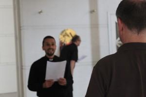 Præstestuderende stenet i Taastrup
