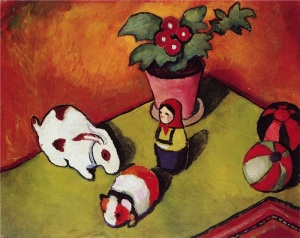 August Macke Walterchens Spielsachen taken by Irina Flickr