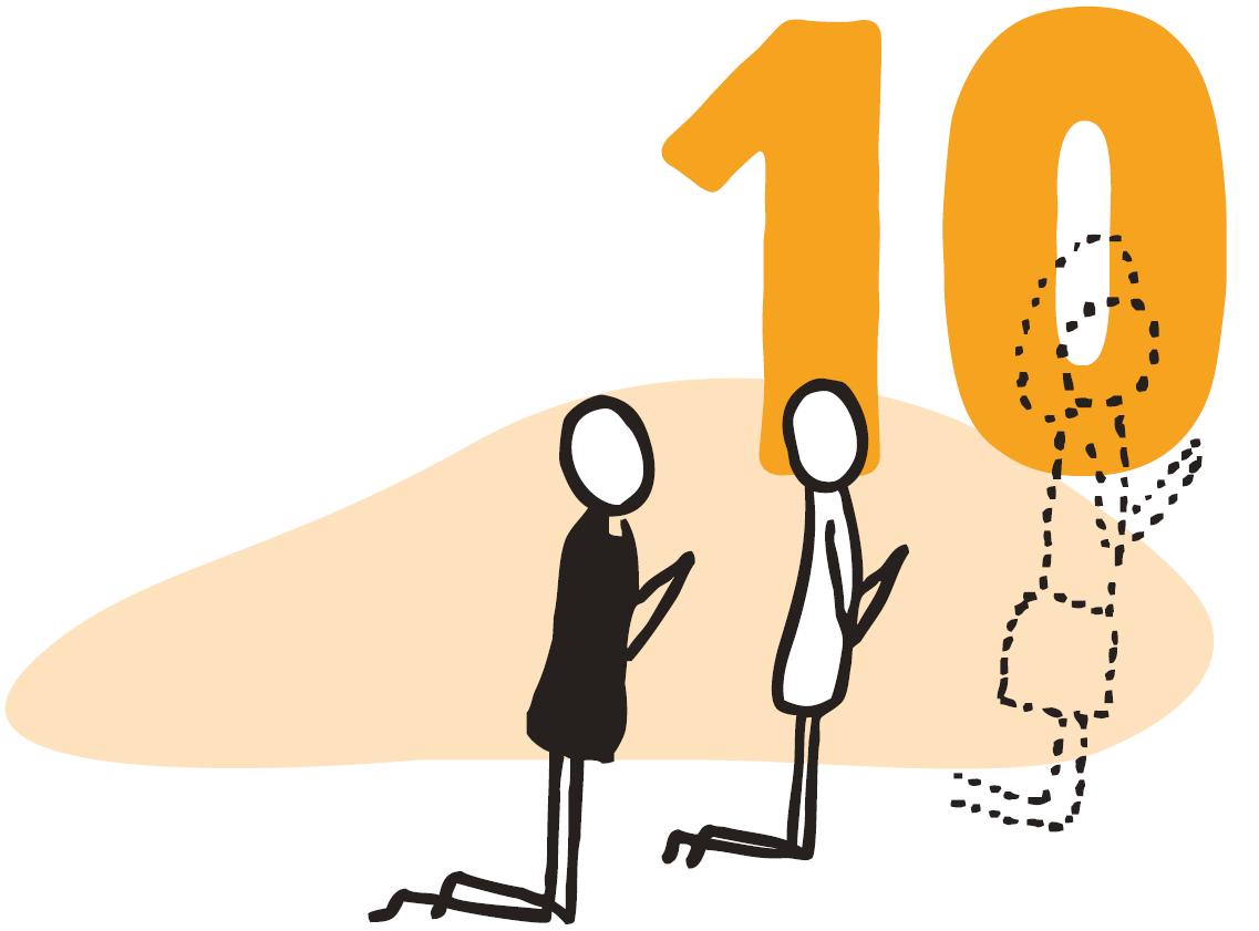 10 gode råd til alle, som virkelig gerne vil bede