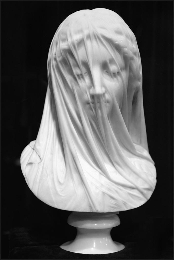 Giovanni Strazza (1818-1875) The Veiled Virgin