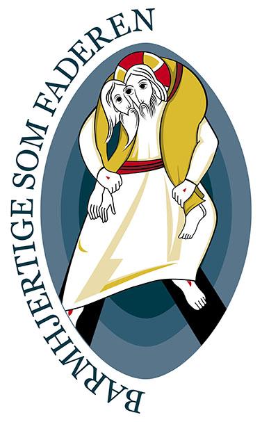 Logo for Barmhjertighedens år